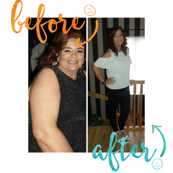 Lynn dropped 53lbs at Million Dollar Fitness in L'Derry